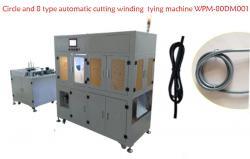 Circle and 8 type automatic cutting winding tying machine WPM-80DM001