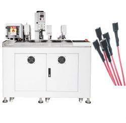 heat shrink tube inserting and twisting tinning crimping machine WPM-006S