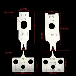 Terminal machine blade Various types of automatic terminal crimping machine tool die mute OTP die blade